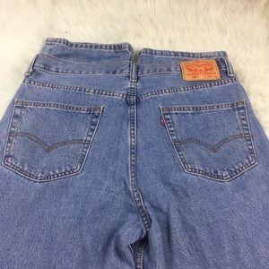 Men's 550 Levi's blue jeans